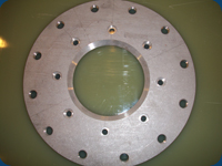 Waterjet and Tapped Flange for Water Park Application